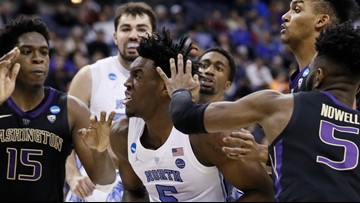 Tar Heels Move On to the Sweet 16 After Trouncing Washington 81-59