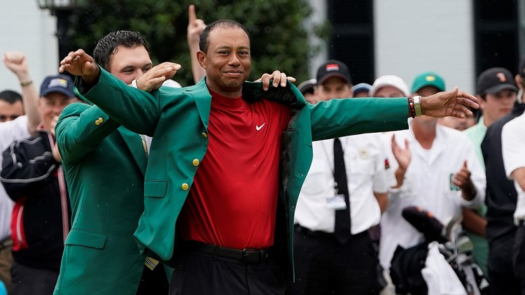 Tiger Woods Puts On The Green Jacket, Wins First Masters Tournament Since 2005