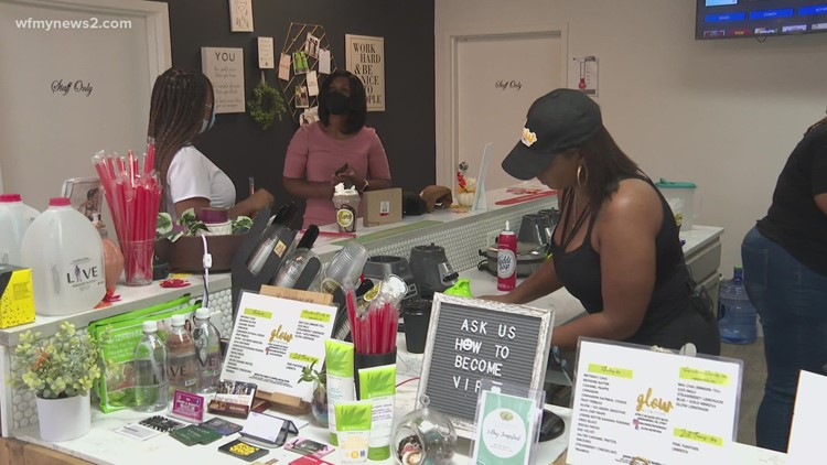 'It was a risk, but God said to move back to North Carolina!' Greensboro entrepreneur's career change during COVID doubles profits