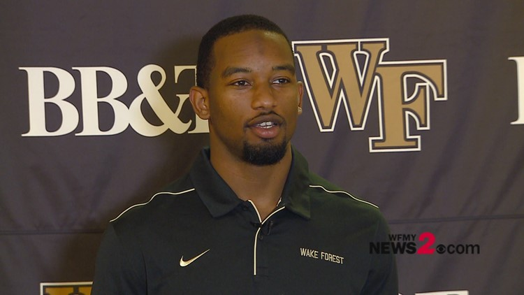 Talking Football With Wake Forest WR Kendall Hinton