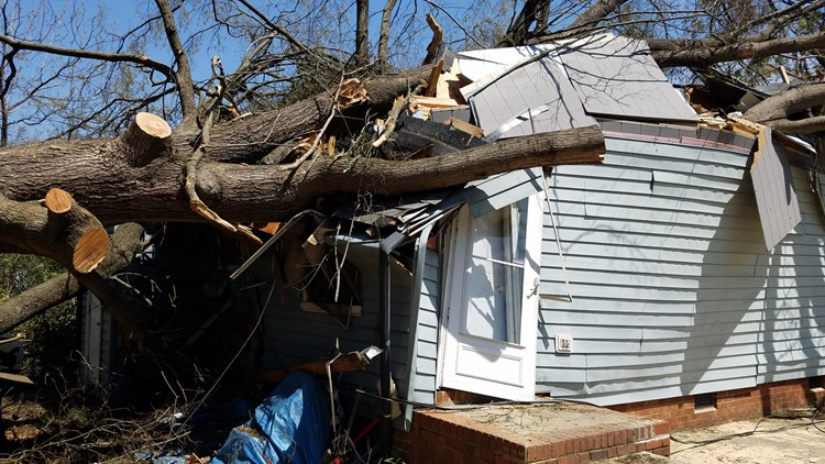 Greensboro still rebuilding three years after the tornado hit
