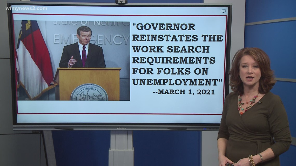 Changes to filing for unemployment in North Carolina