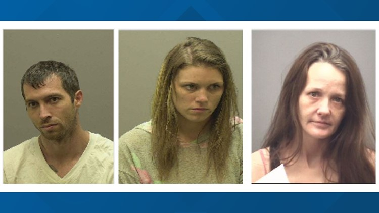 Trio arrested