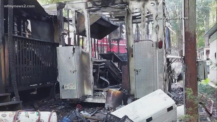 Taco truck owner talks disappointment after destructive fire