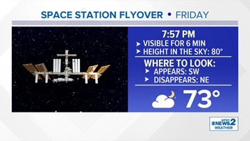 Don't Miss It! 'Spectacular' View of the Space Station Expected Friday Night