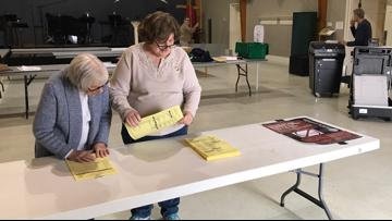 Greensboro poll workers set up for Super Tuesday voters