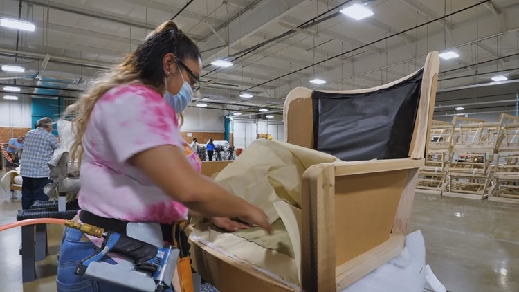 Worker shortage hits North Carolina's furniture industry