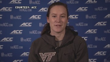'It's where I'm from and will let my family & friends see me play':  Virginia Tech's Cayla King talks ACC Women's Tournament