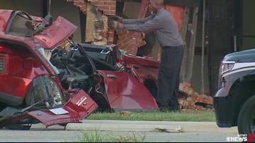 Man Dies After Crashing SUV Into Greensboro Building: Police