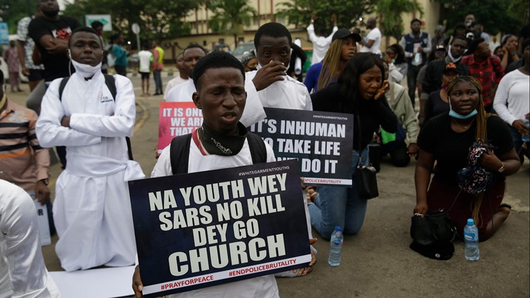 At least 10 dead as Nigeria protesters demand police reforms for seventh day