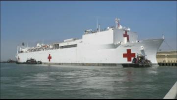 Coronavirus live updates: Trump addresses public as Navy hospital ship heads to New York