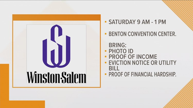 Winston-Salem: Pandemic Rent and Utilities Assistance Application Fair Saturday