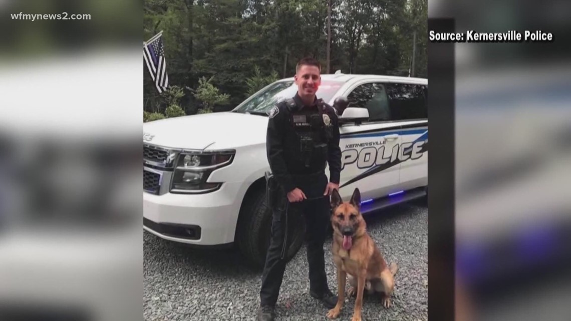 Family of injured Kernersville officer gives update on his condition