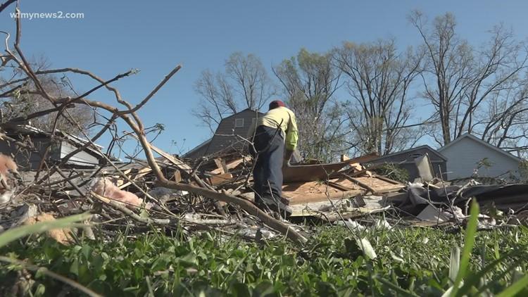 Three years since a tornado tore through parts of Greensboro, Rockingham County
