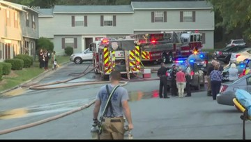 Woman Charged with Arson After Greensboro Apartment Fire