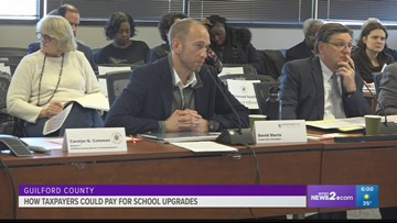 How taxpayers could foot the bill for Guilford County school upgrades