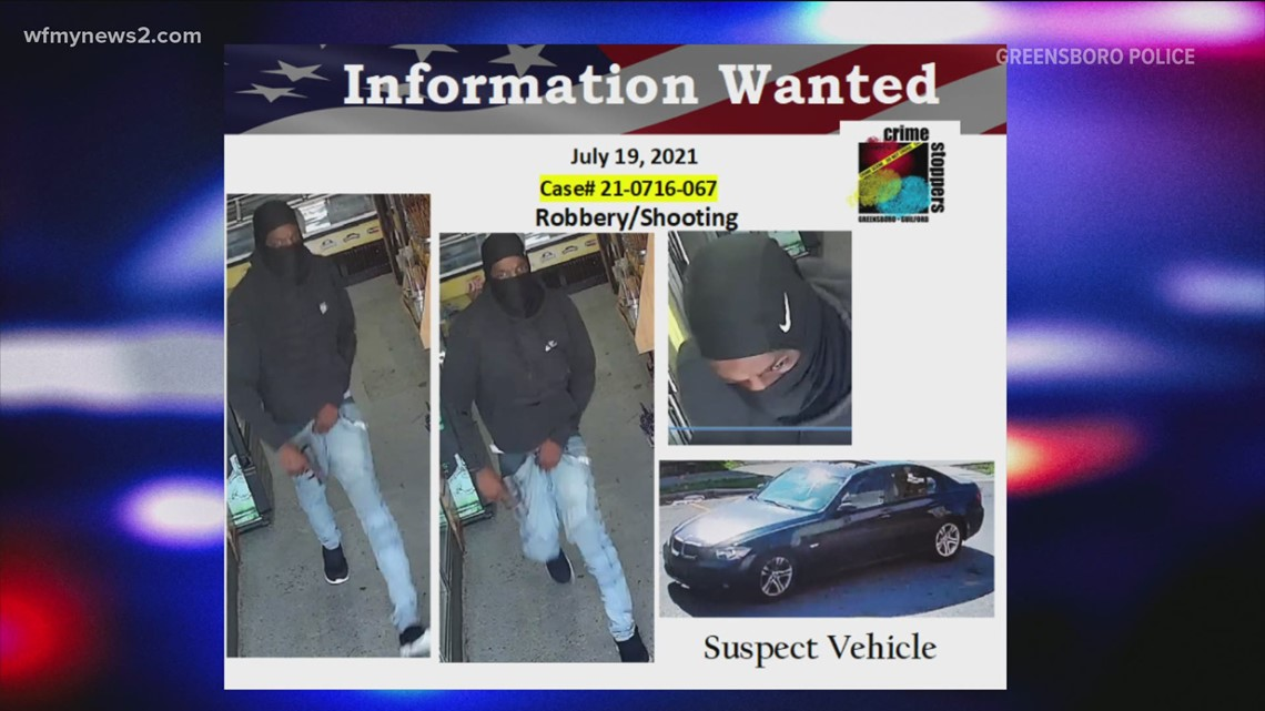 Greensboro police release surveillance image of getaway car in armed robbery