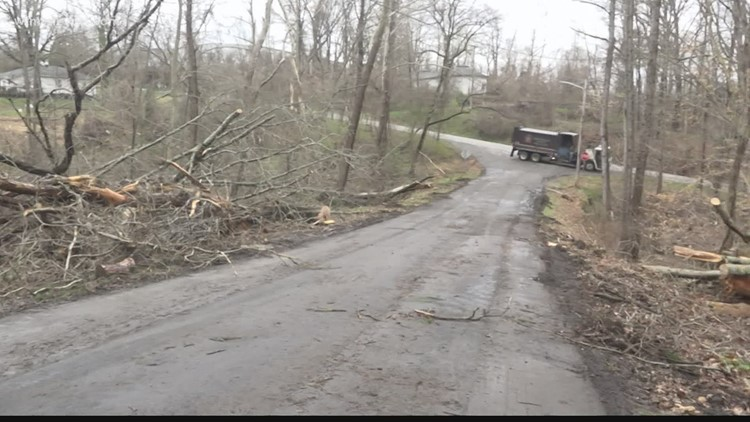 Clean up continues after confirmed EF-0 tornado in High Point
