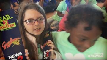 Read 2 Succeed Train Rolls Into Jamestown Elementary