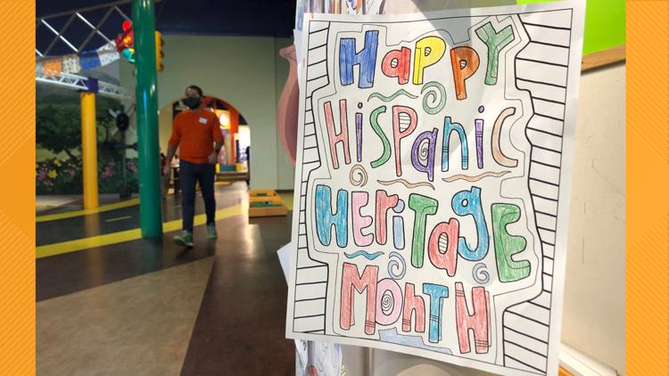 'We want to make sure the culture is represented' | The Greensboro Children's Museum honors Hispanic Heritage Month.