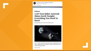 """VERIFY: Yes, Big Asteroids Got """"Close"""" To Earth Recently"""