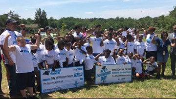 Panthers 'Keep Pounding Day' Caravan Makes Stops In Greensboro and Winston-Salem