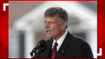 'All a Bunch of Crap' Evangelicals Turnout for Trump During Franklin Graham's NC Tour