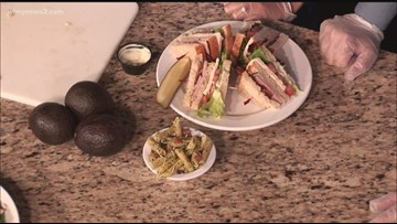 A Summer Sandwich and Salad from Famous Toastery - Part 2