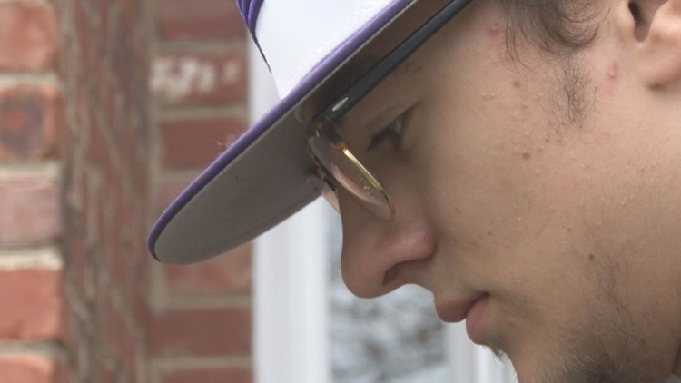 'I have faith in God that there's a reason for this': Senior baseball pitcher stays focused