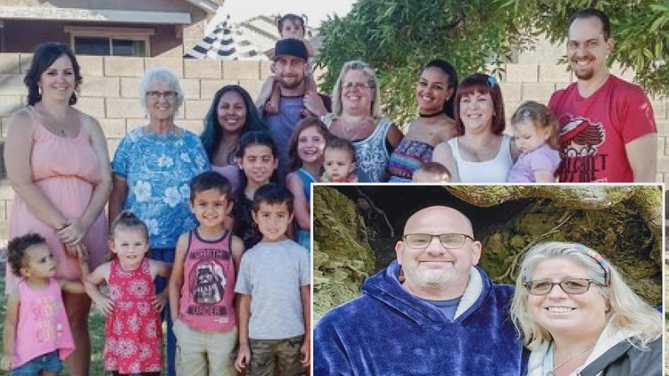 Peoria grandmother of 15 dies in car crash with fiancé, trying to avoid hitting a cow