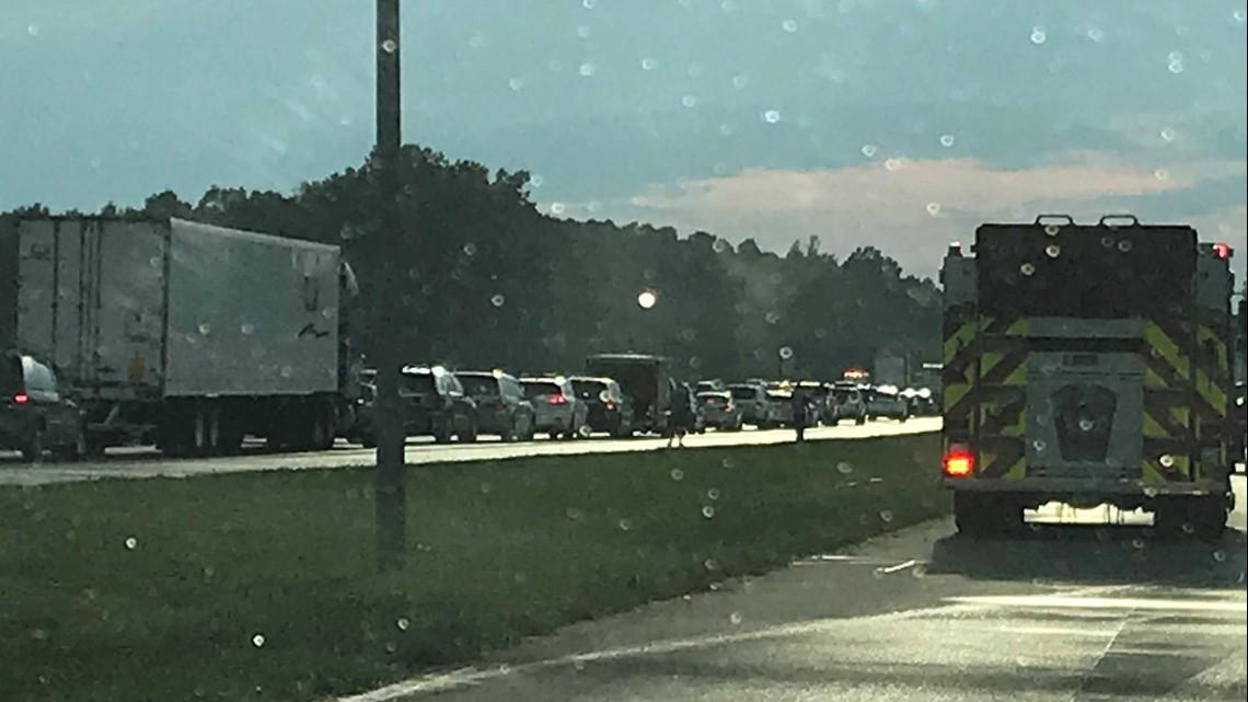 I-40/I-85 Crash Involves Multiple Cars | wfmynews2 com