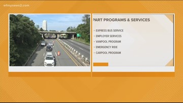PART Offers Transportation Solutions During Business 40 Closure