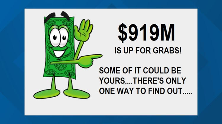Search your name for FREE for unclaimed cash & property in NC