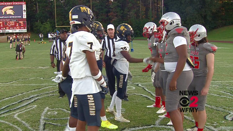 Mount Tabor vs. Page:  Friday Football Fever Week Four