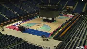 Greensboro Coliseum Makes Final Preparations For ACC Women's Basketball Tournament