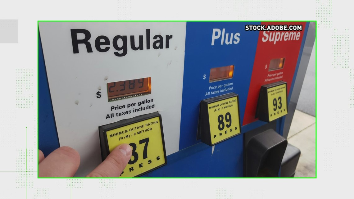 VERIFY: You can put premium gas in a car that takes regular but not vice-versa