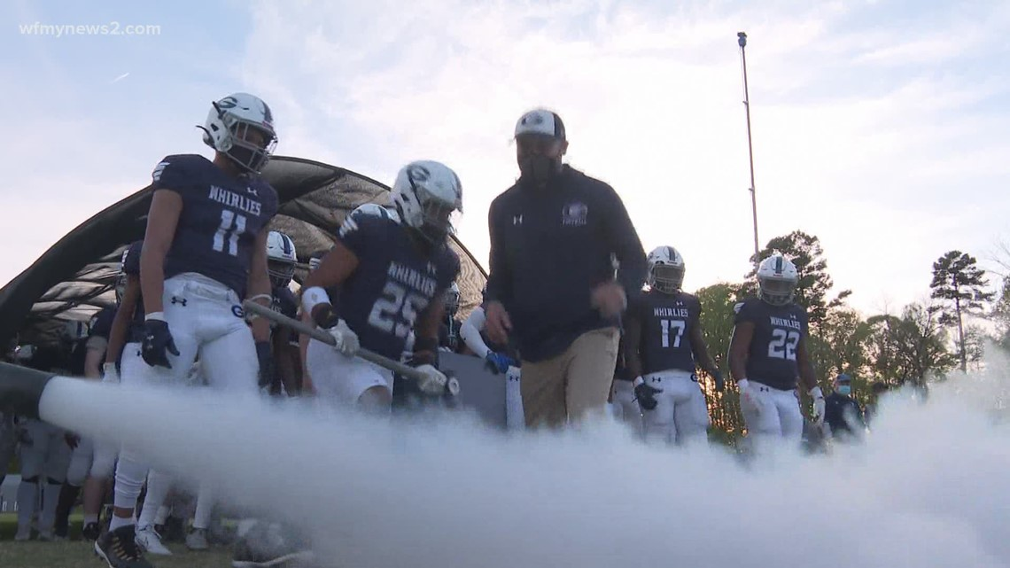 Grimsley High School football player narrows college pick down to four schools