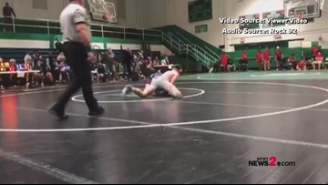 Father talks to radio station about son being attacked by parent during wrestling match