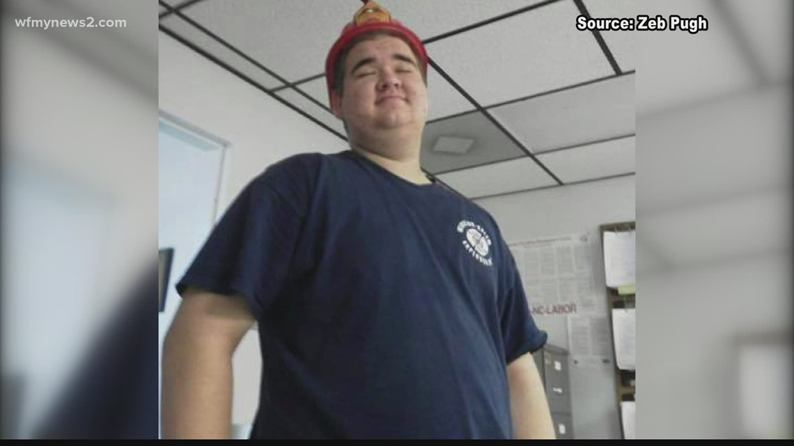 Triad firefighter improving as he battles COVID-19 in ICU
