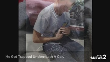 Greensboro Firefighters Rescue Kitten Trapped Underneath Car