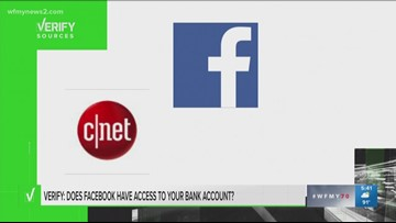Verify: Is Facebook Dipping Into Your Bank Account?