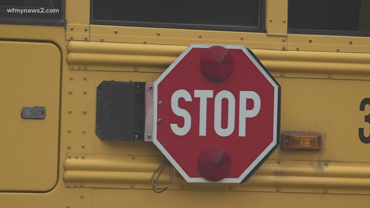 Several Triad school districts dealing with bus driver shortage
