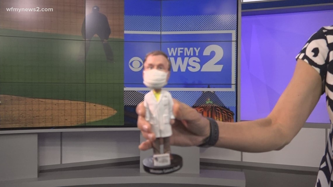 Winston-Salem Dash to honor local doctor with bobblehead giveaway