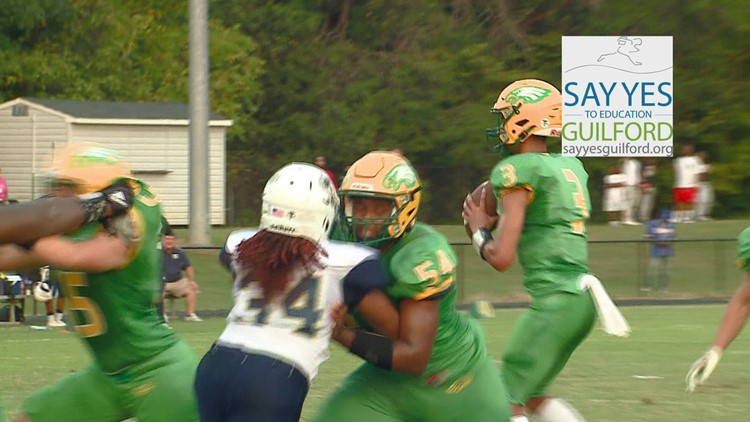 Say Yes Guilford FFF Play of the Week