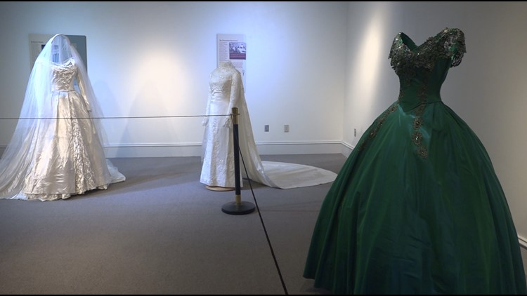 'She was beyond her time' | NC fashion designer's dresses on display at N.C. A&T