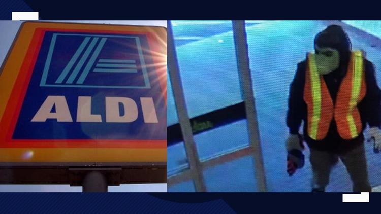 Kernersville Aldi robbed by Hulk mask wearing suspect