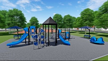 One-Of-A-Kind Playground Opens In Greensboro