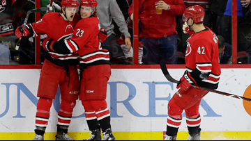 Carolina Hurricanes Bound For Playoffs For First Time Since 2009 With 3-1 Win Against The Devils