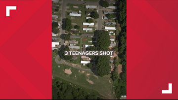 Three Teenagers Taken To Hospital After Shooting