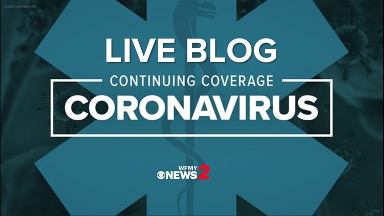 Wednesday real-time coronavirus updates: North Carolina gets FEMA funding to house at-risk people in hotels, dorms